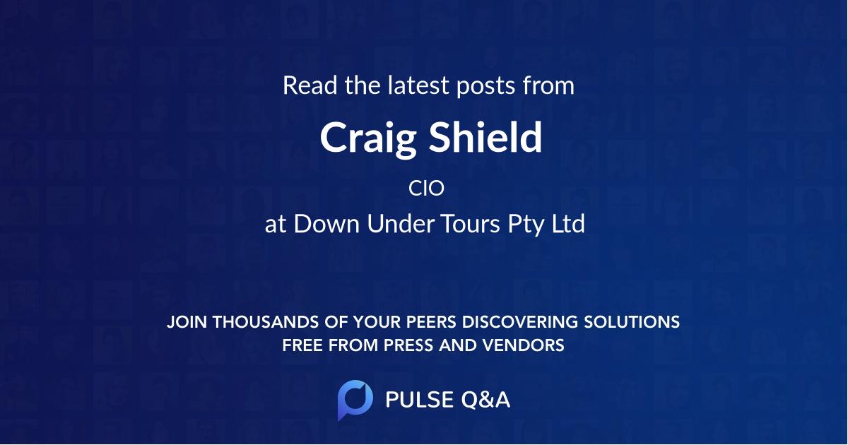 Craig Shield