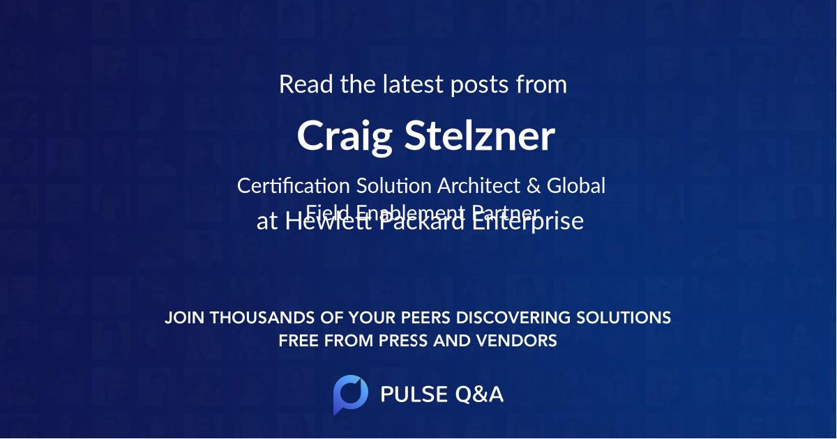 Craig Stelzner