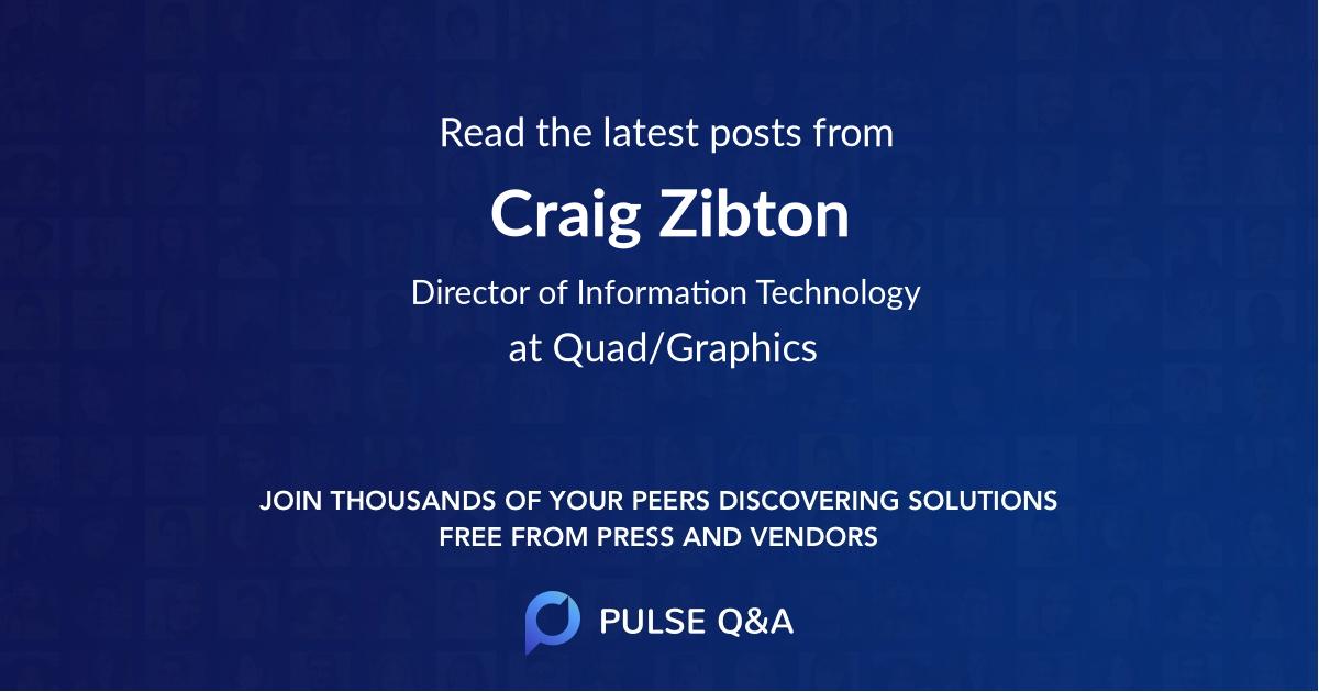 Craig Zibton