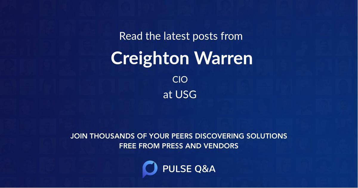 Creighton Warren