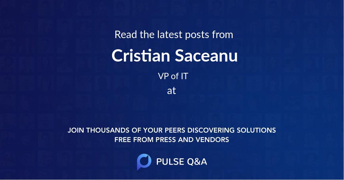 Cristian Saceanu