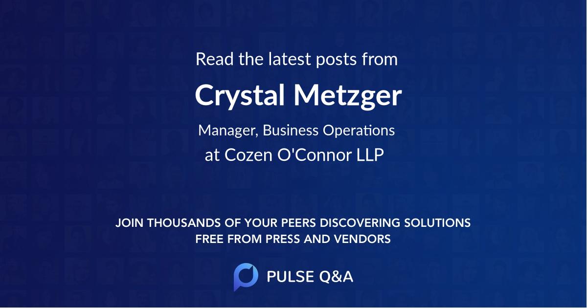 Crystal Metzger
