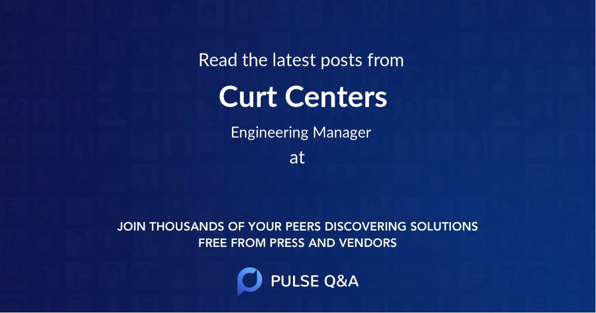 Curt Centers
