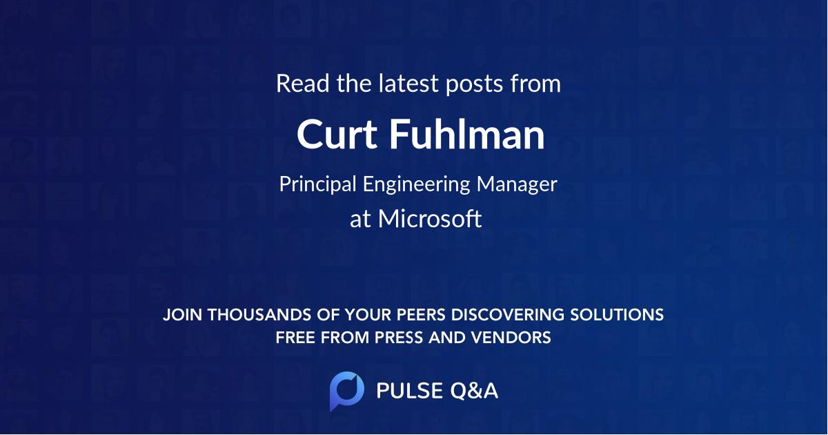 Curt Fuhlman