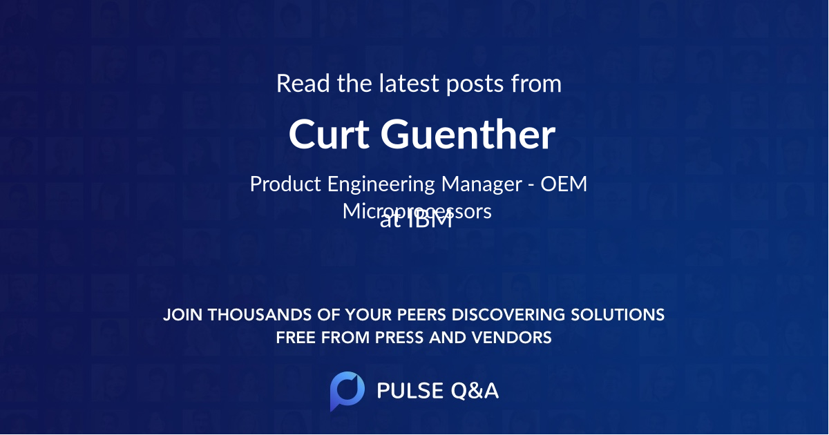 Curt Guenther