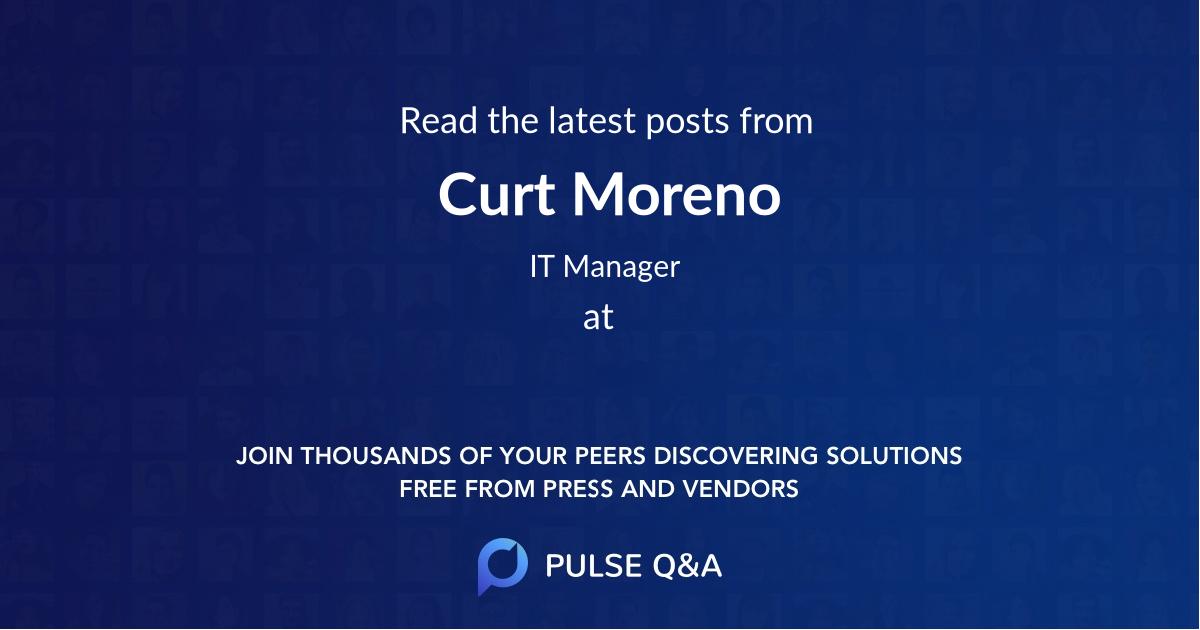 Curt Moreno