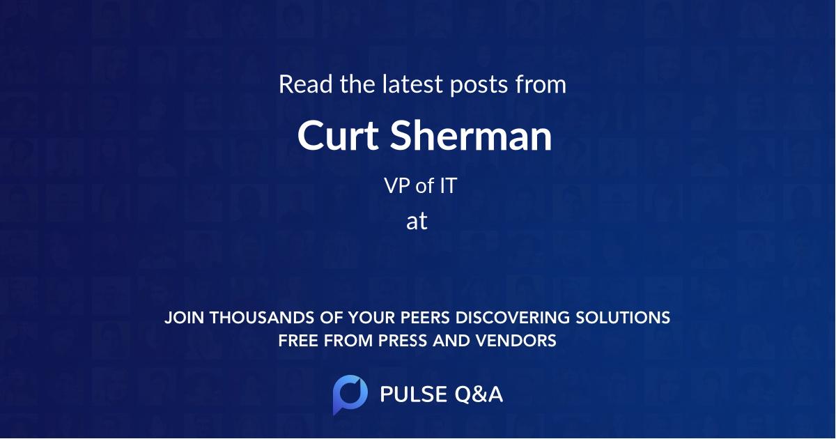 Curt Sherman
