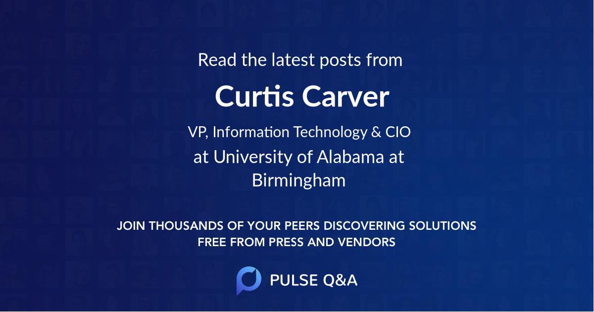 Curtis Carver