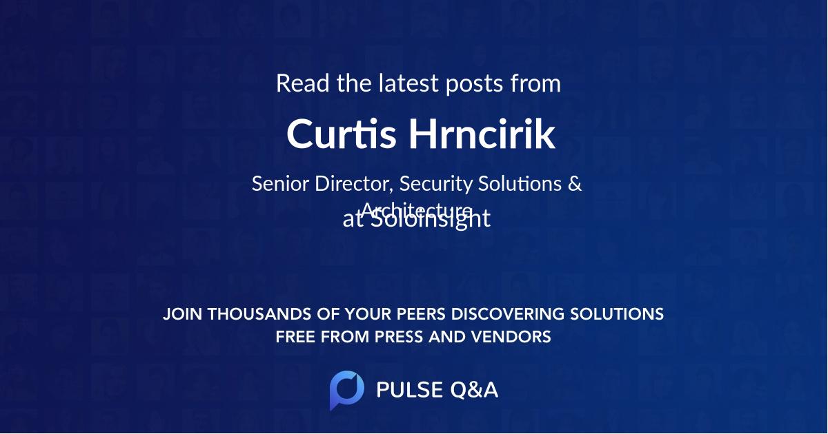 Curtis Hrncirik
