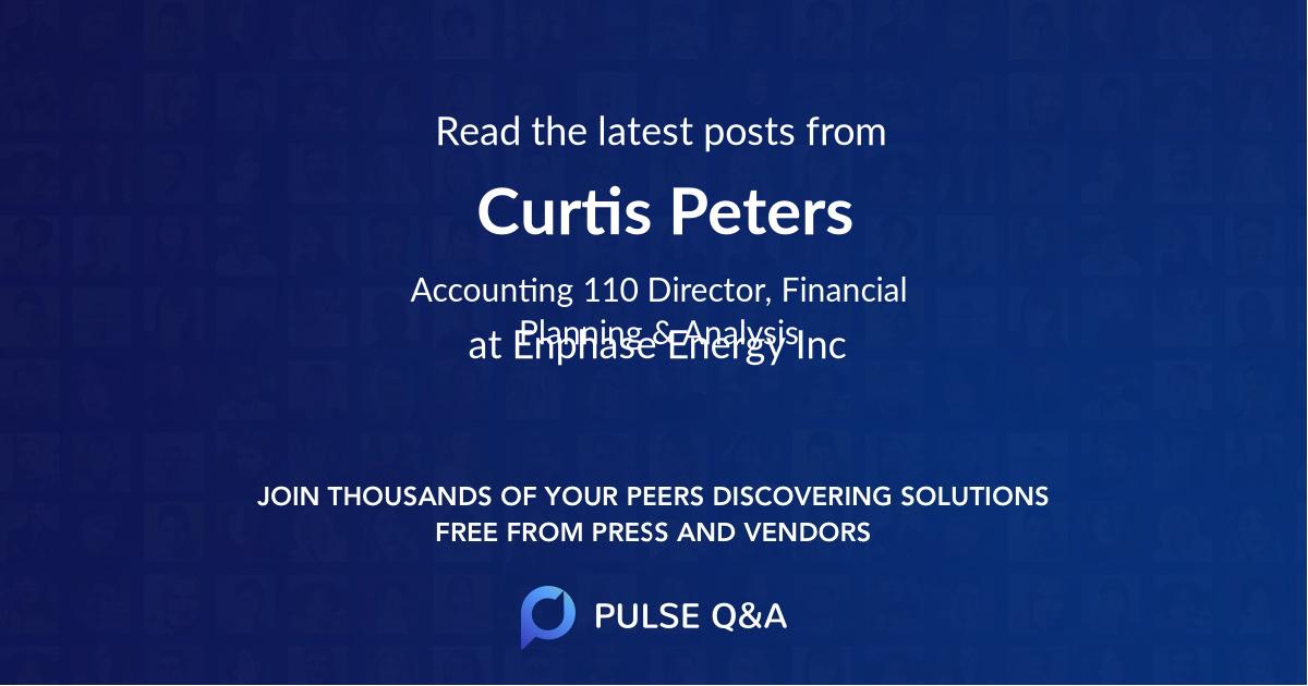 Curtis Peters