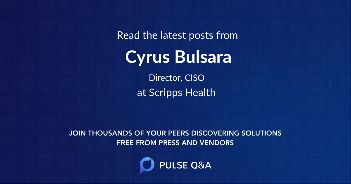 Cyrus Bulsara