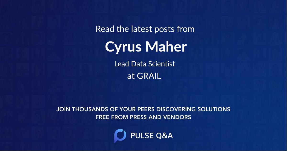 Cyrus Maher