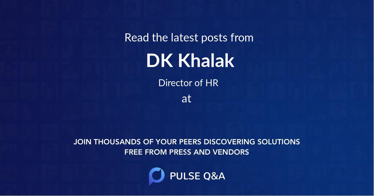 DK Khalak