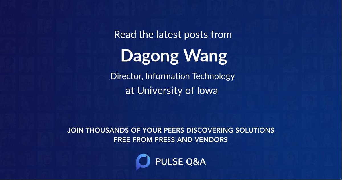 Dagong Wang
