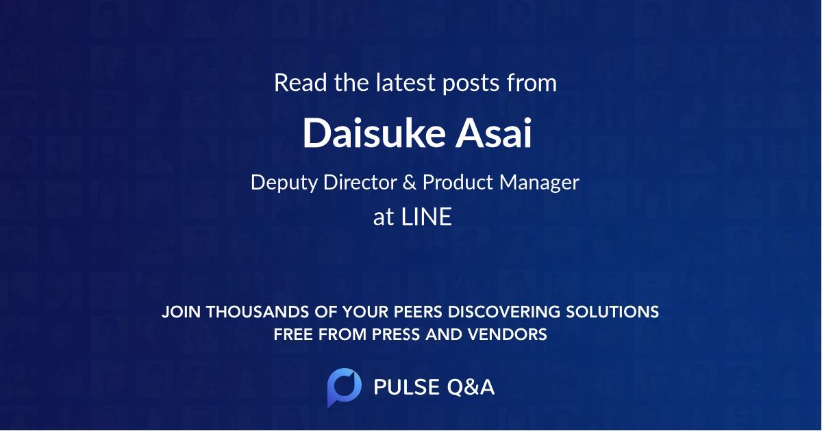 Daisuke Asai