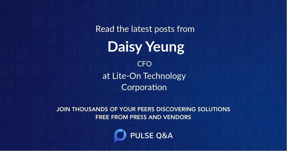 Daisy Yeung