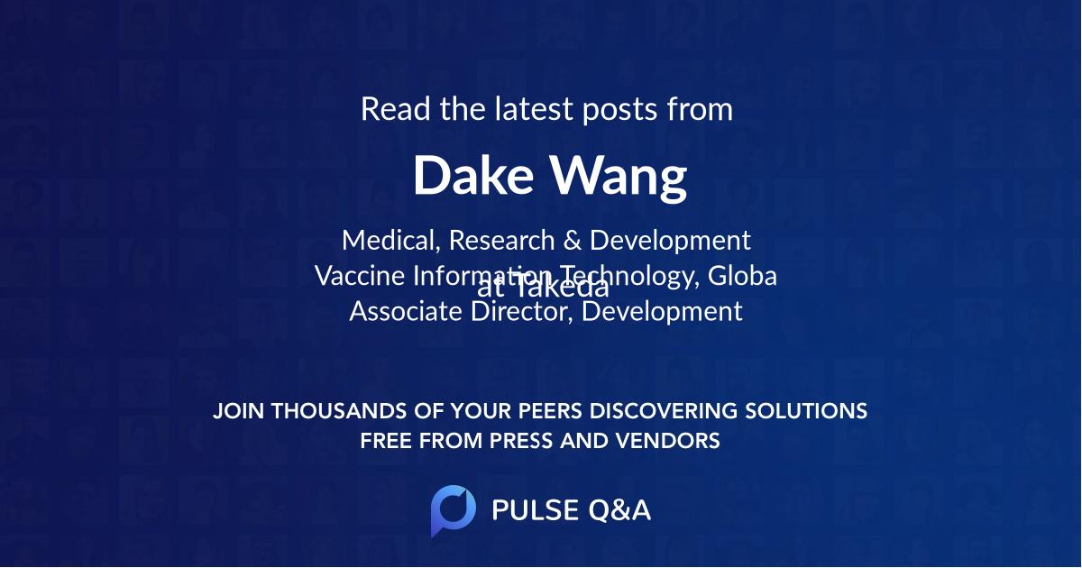 Dake Wang