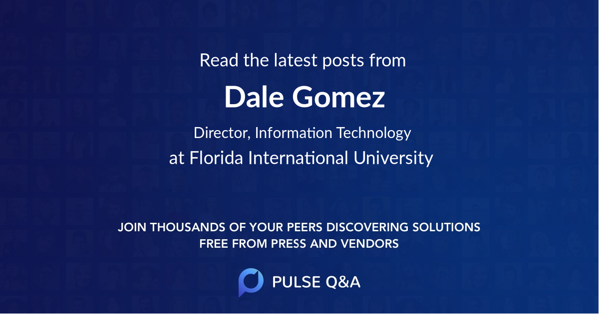 Dale Gomez