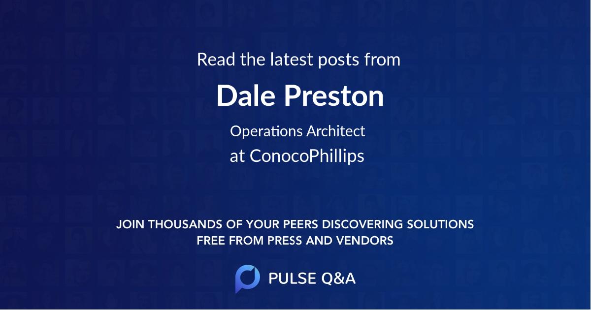 Dale Preston
