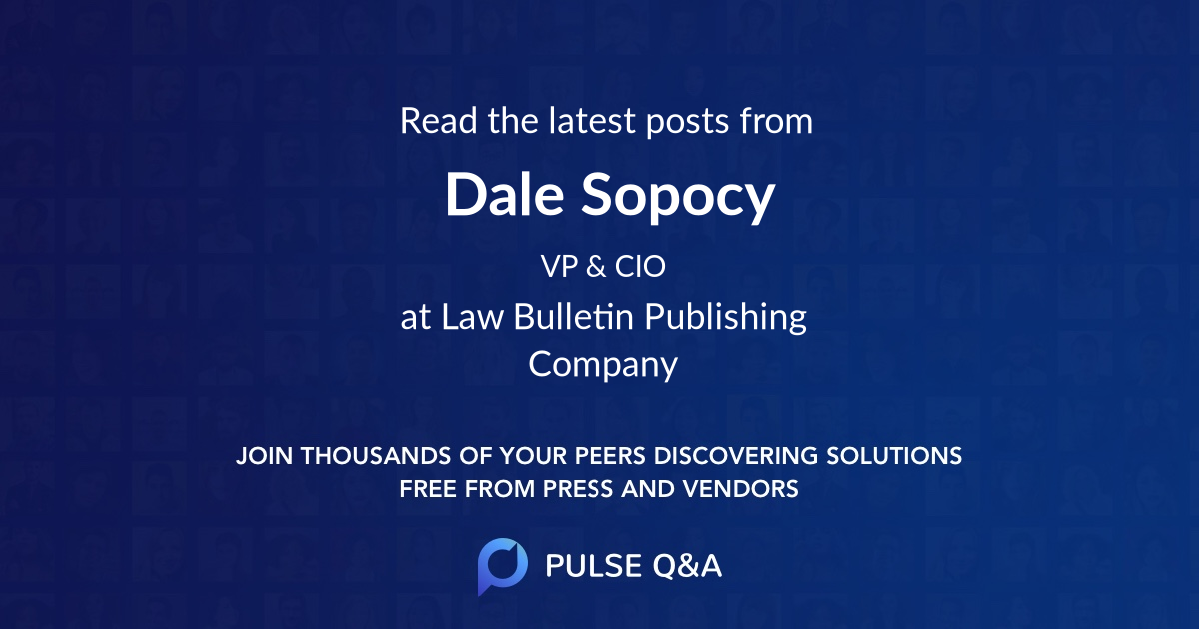 Dale Sopocy