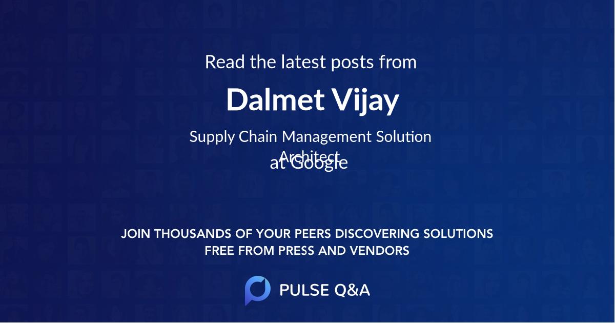 Dalmet Vijay