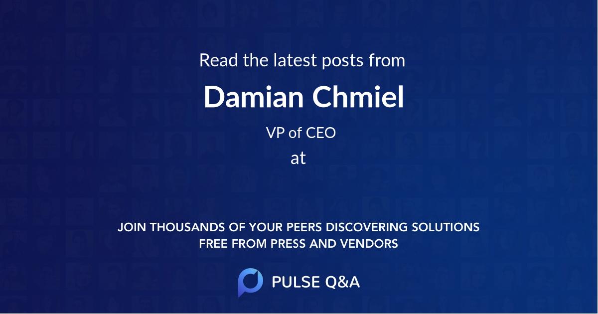 Damian Chmiel