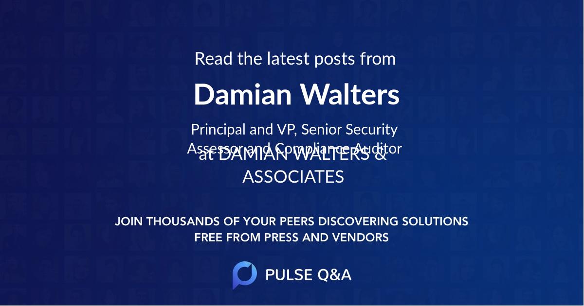 Damian Walters