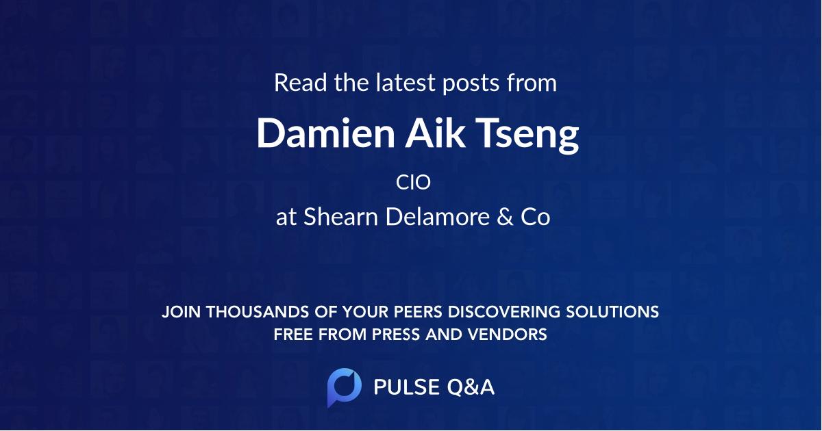 Damien Aik Tseng