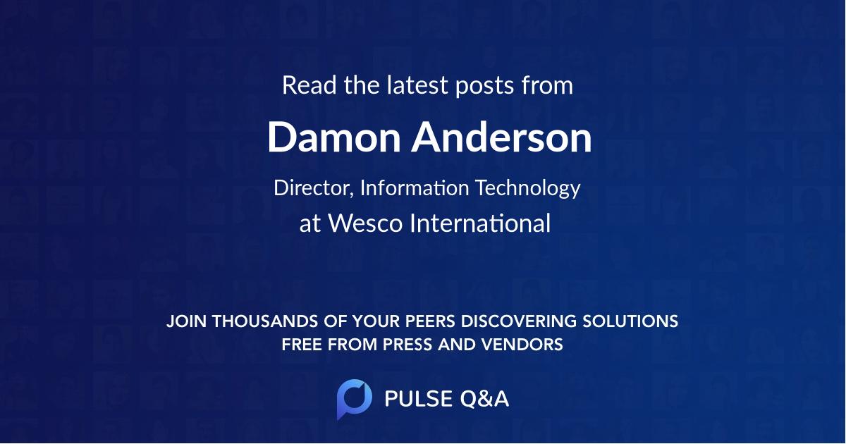 Damon Anderson