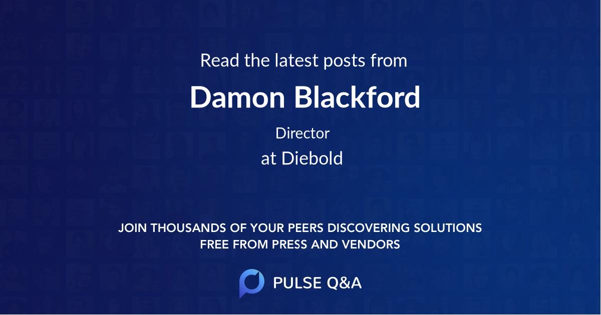 Damon Blackford
