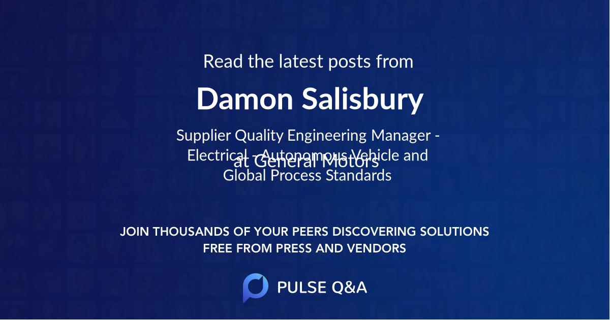 Damon Salisbury