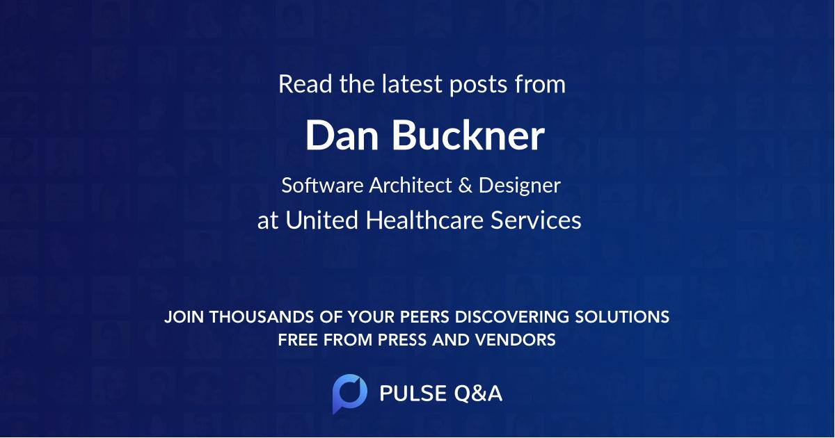 Dan Buckner