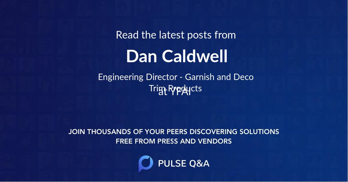 Dan Caldwell