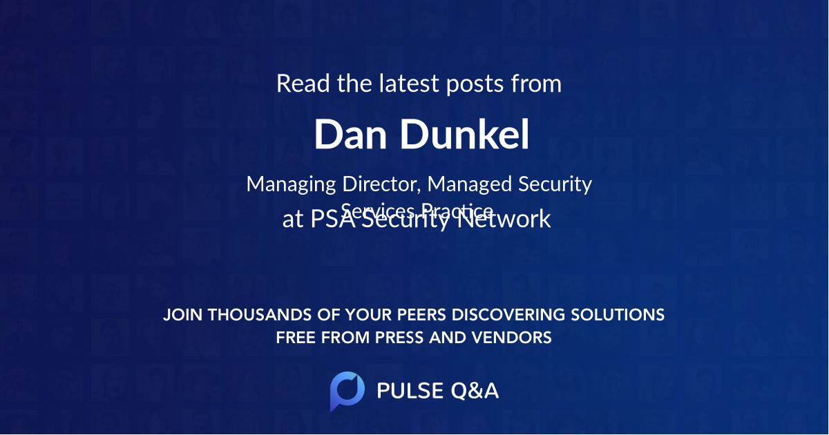 Dan Dunkel
