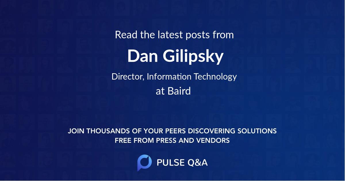 Dan Gilipsky