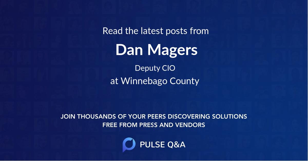Dan Magers