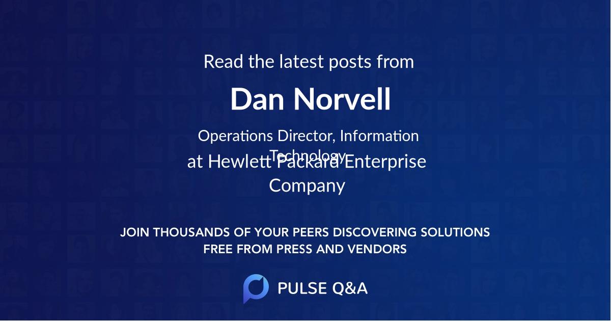 Dan Norvell
