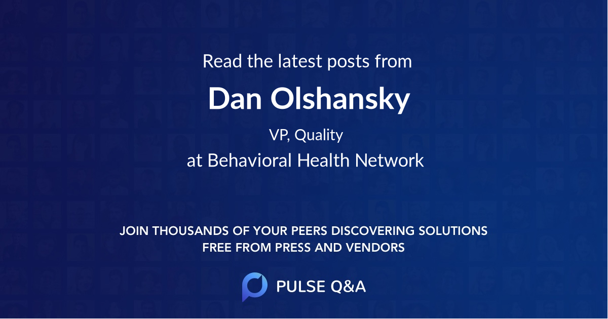 Dan Olshansky