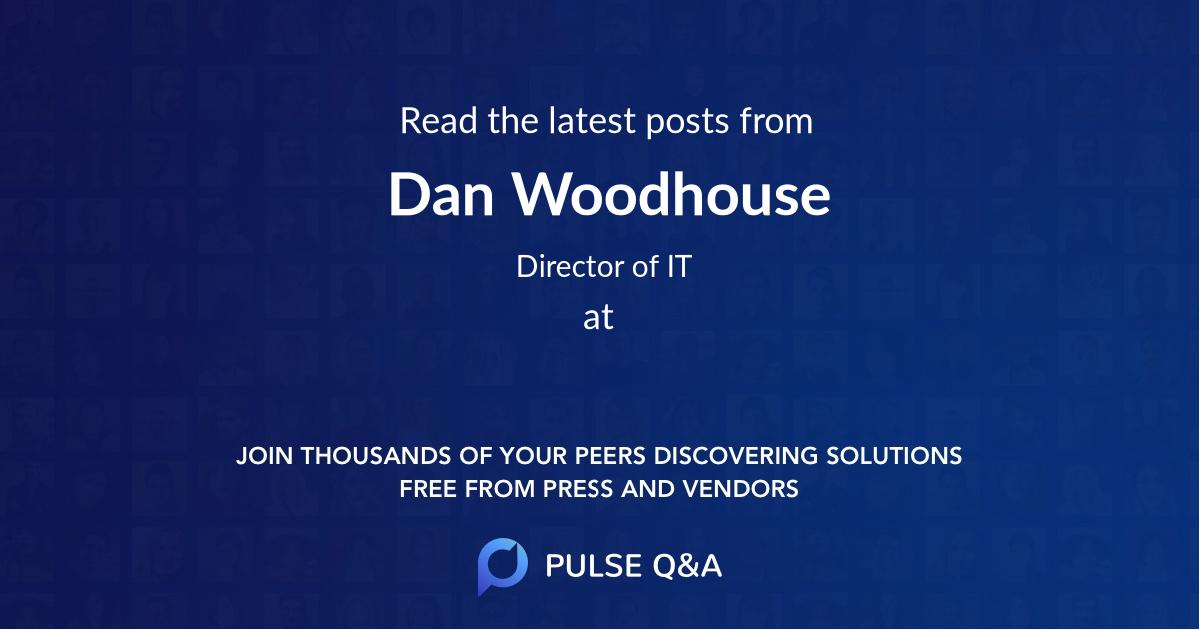 Dan Woodhouse