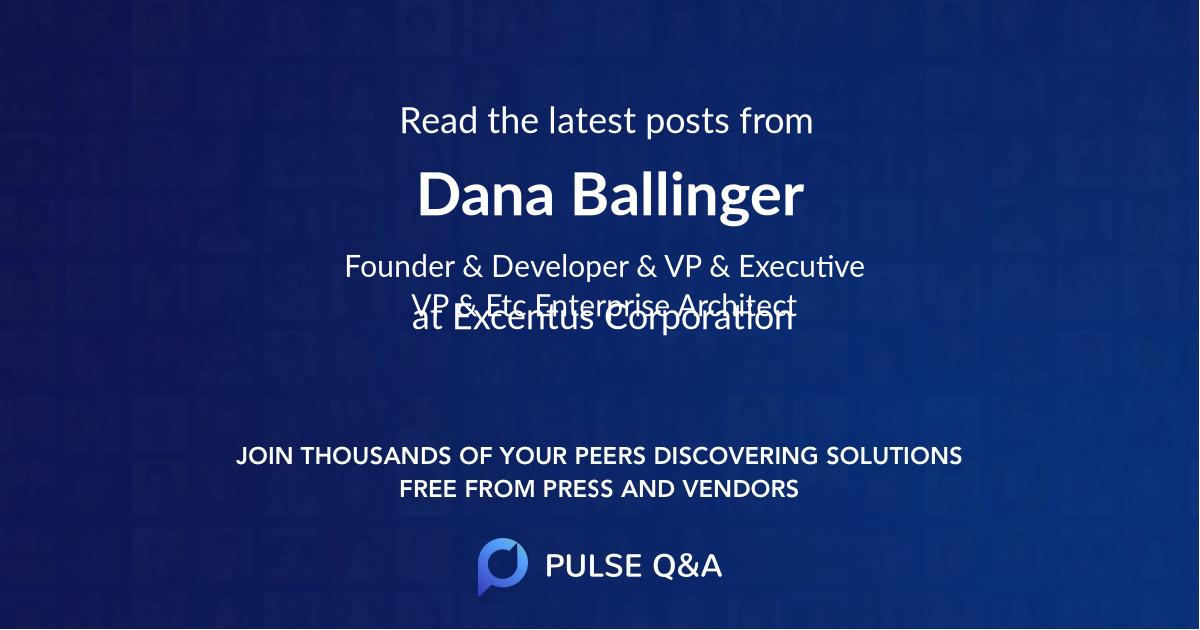 Dana Ballinger
