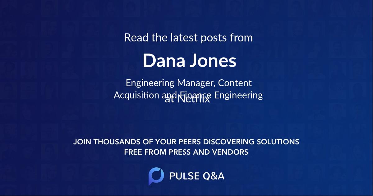 Dana Jones