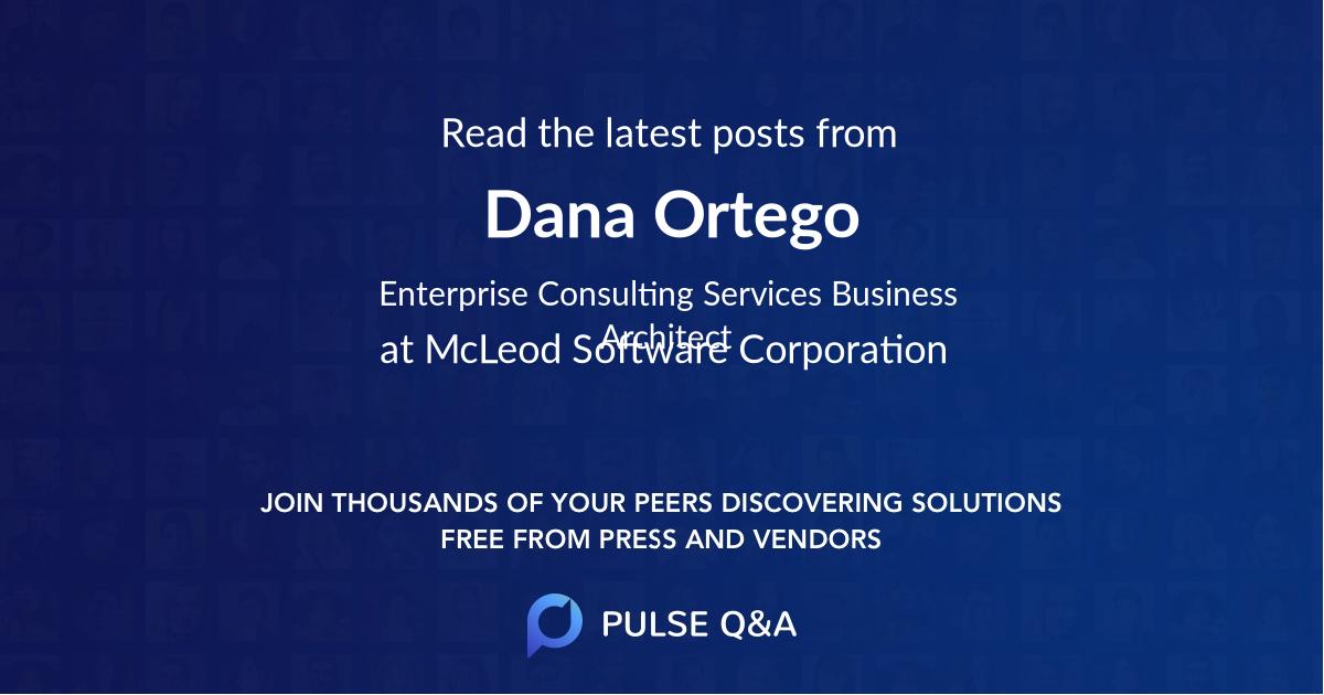 Dana Ortego