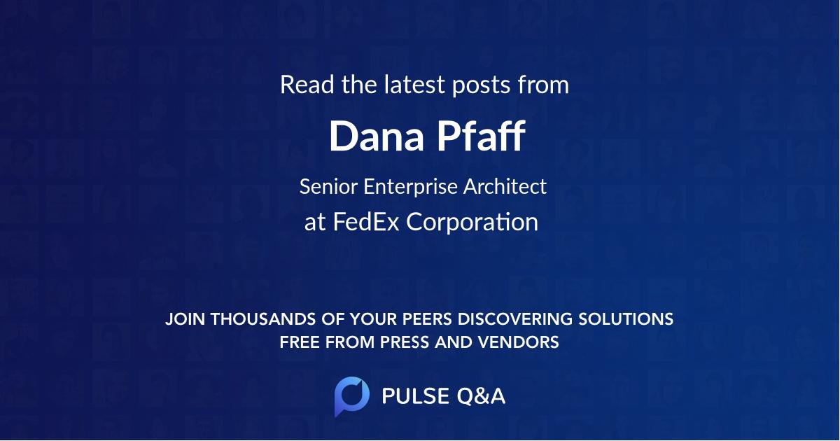 Dana Pfaff