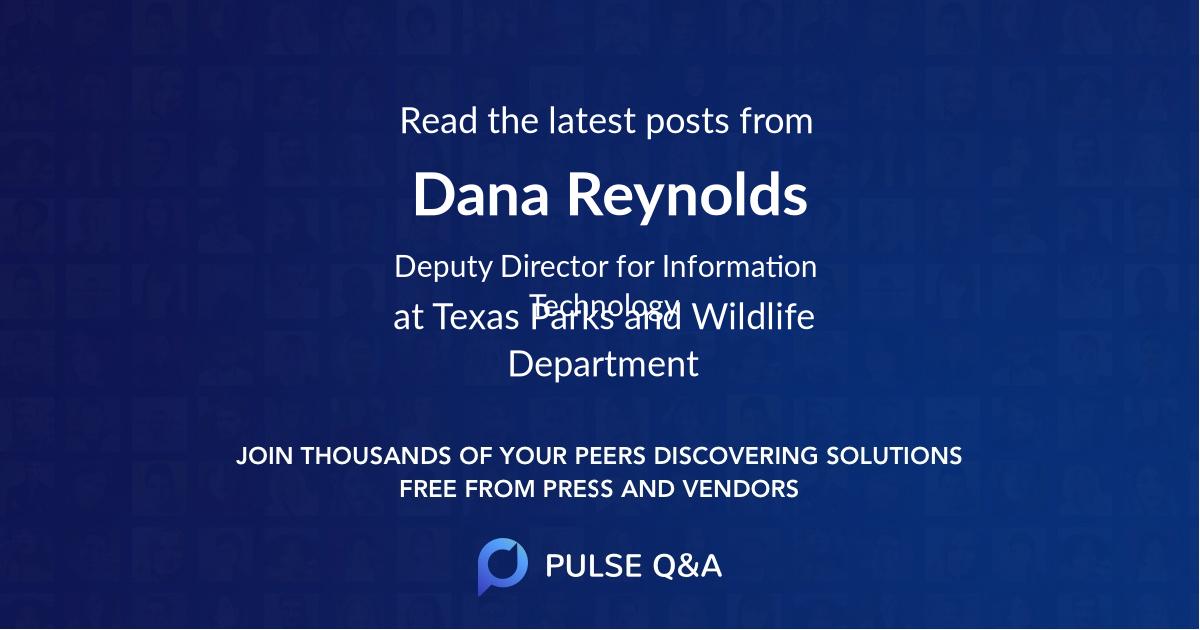 Dana Reynolds