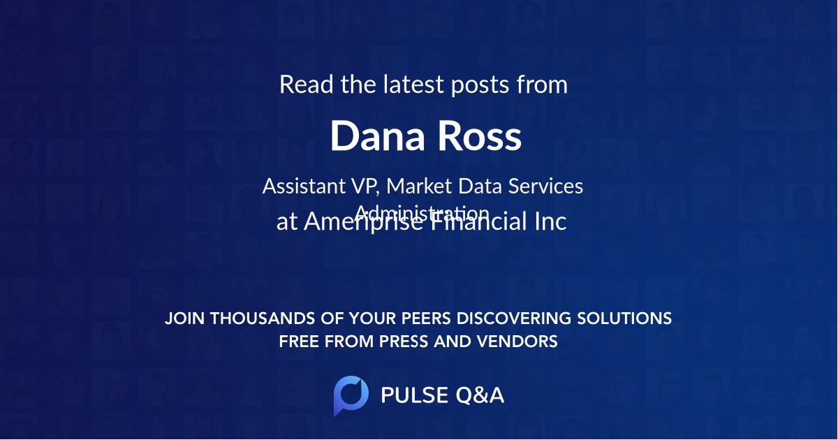 Dana Ross