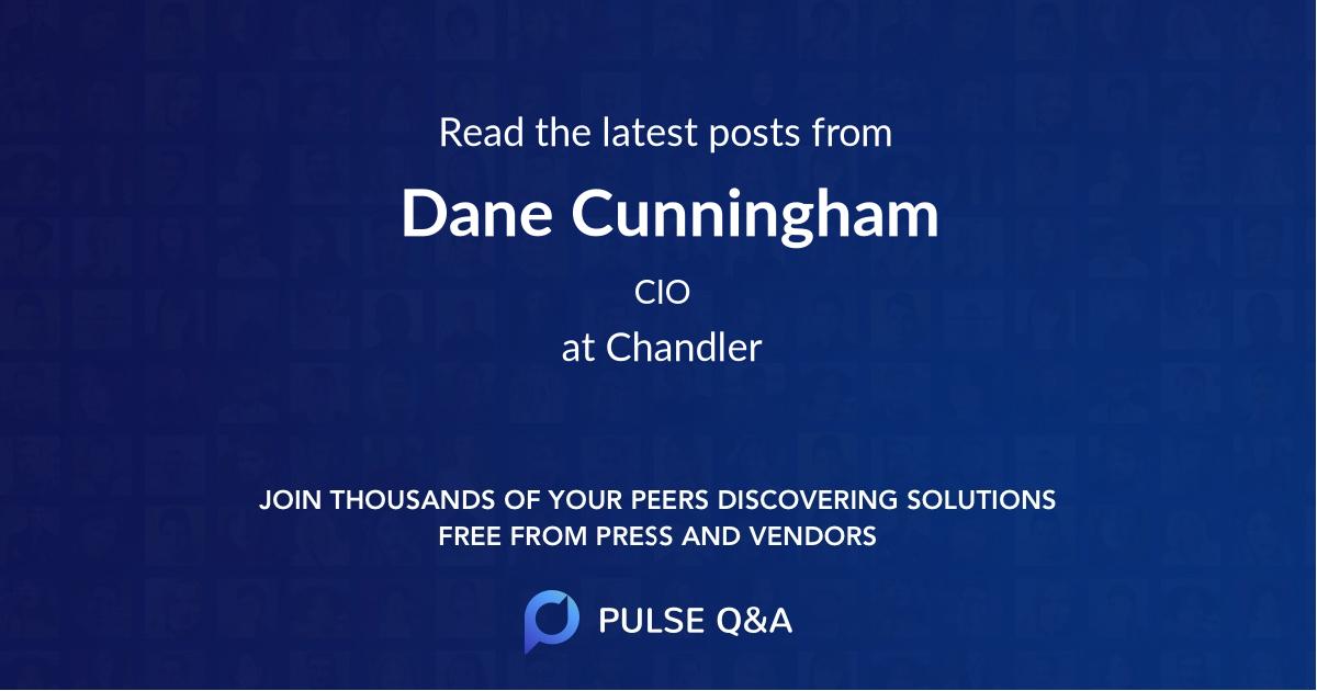 Dane Cunningham