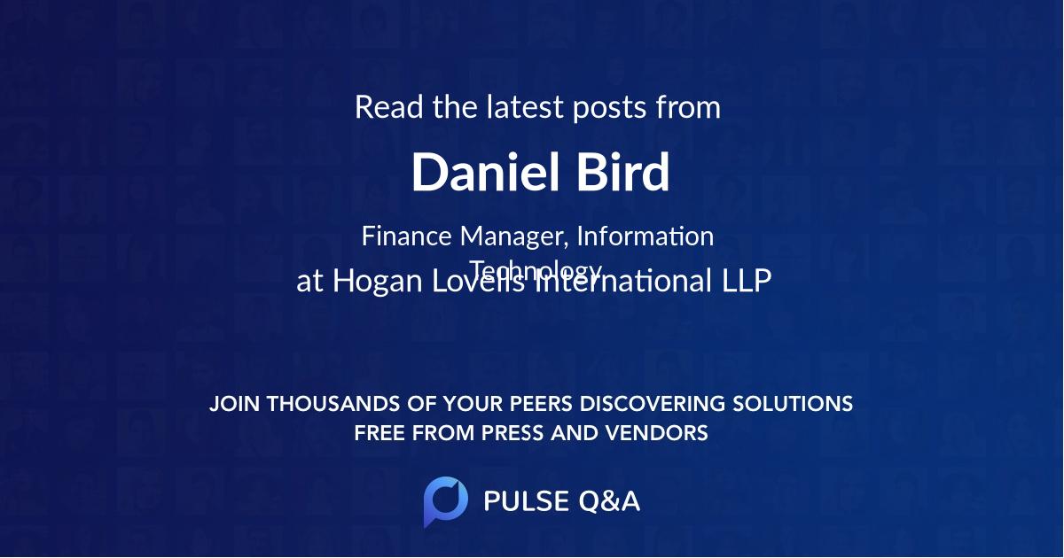 Daniel Bird