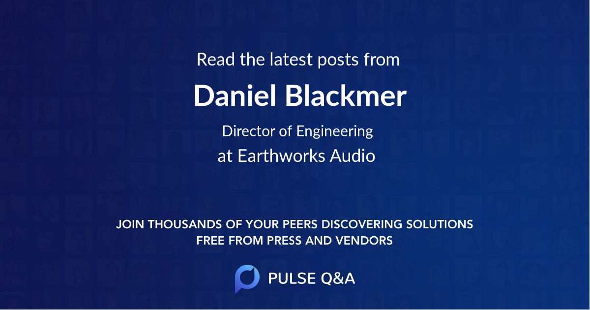Daniel Blackmer