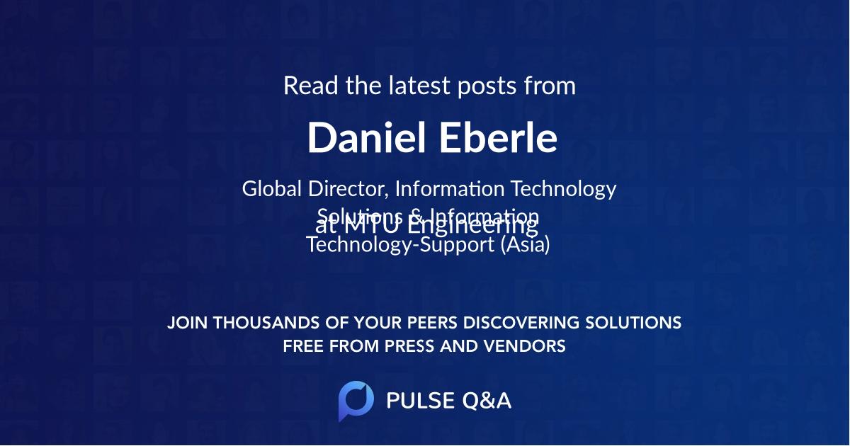 Daniel Eberle