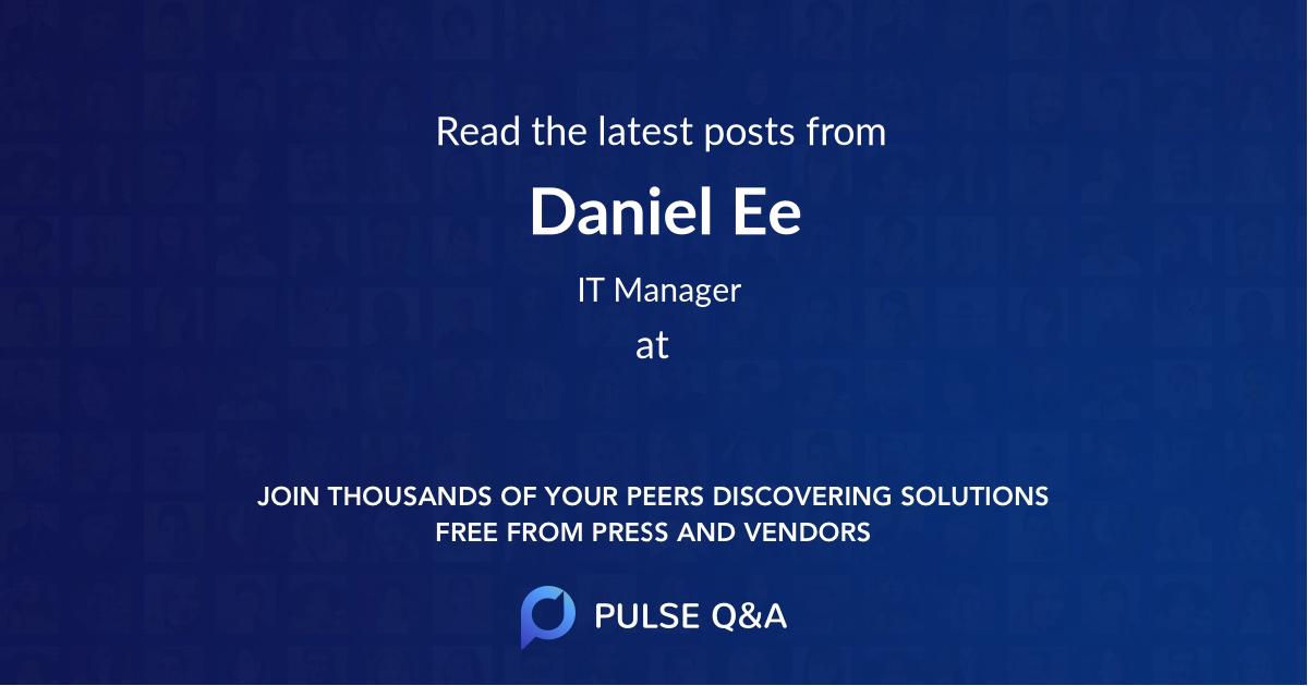 Daniel Ee